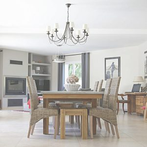 A beautiful dining room table